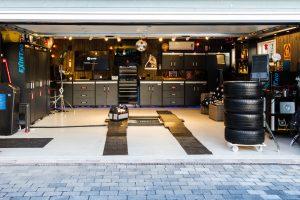 Strøken garasje